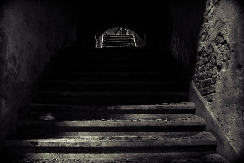 Treppe im dunkeln