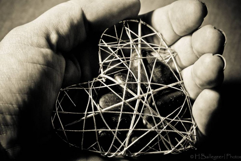 Herz in Hand