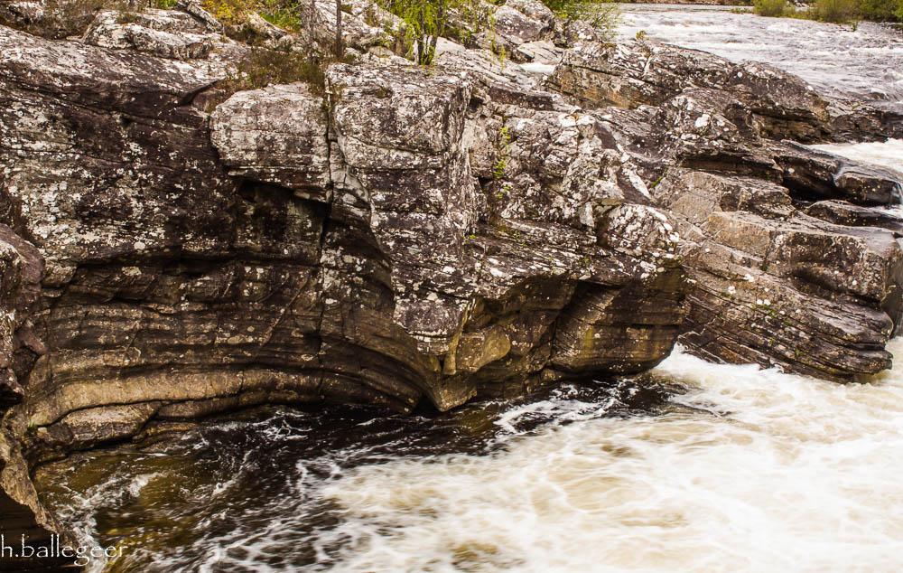 River Moriston falls